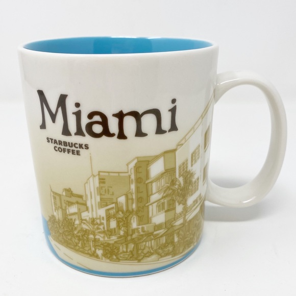 STARBUCKS Collectors Series Mug ~ Miami